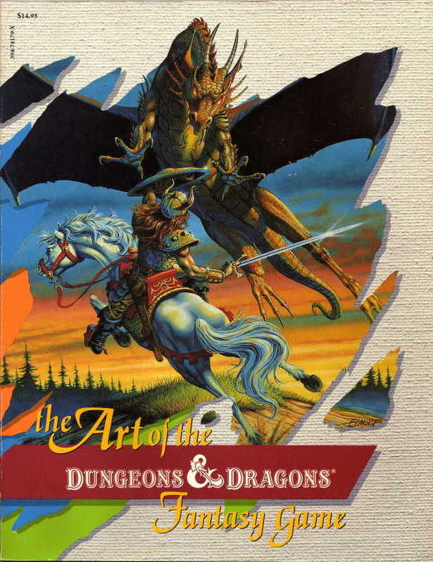 The Art of the Dungeons & Dragons Fantasy Game