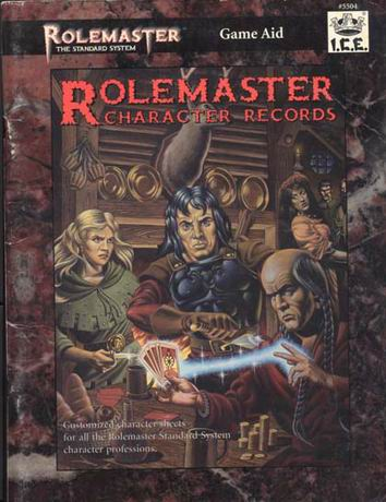 Rolemaster: Character Records