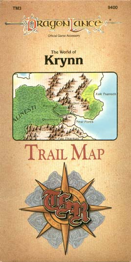 The World of Krynn Trail Map